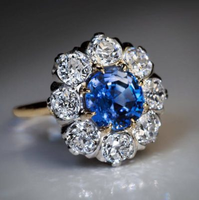Natural Blue Sapphire rings