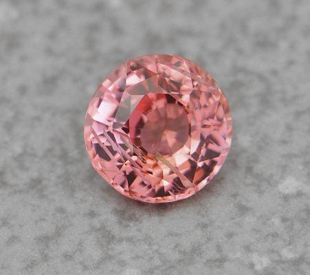 Round Padparadscha Sapphire