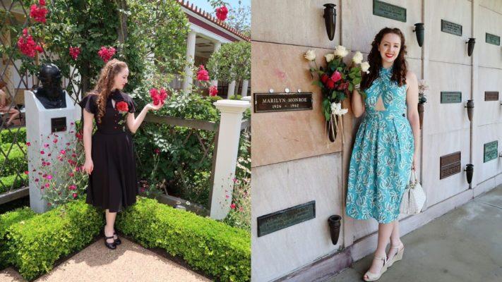 vintage themed engagement dress