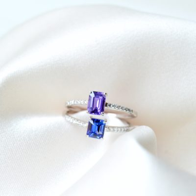 Promise ring sapphire