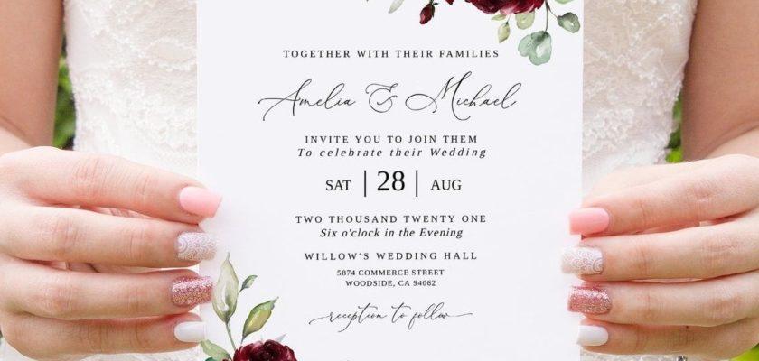 when to send wedding invitations