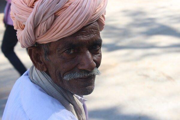 Old indian man