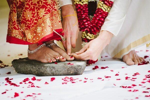 indian bridal toe rings